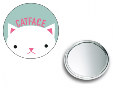 Catface Pocket Mirror